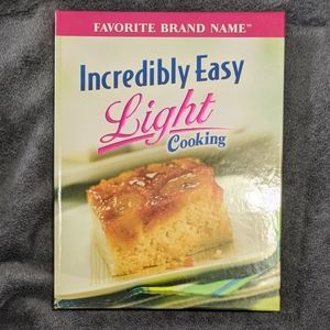 Incredibly Easy Light Cooking Cookbook